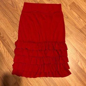 Dresses & Skirts - Red skirt extender